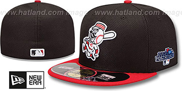 Reds 2013 POSTSEASON DIAMOND-TECH Hat by New Era