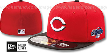 Reds 2013 POSTSEASON ROAD Hat by New Era
