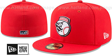Reds 2017 MLB LITTLE-LEAGUE Red Fitted Hat by New Era