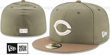 Reds '2017 ONFIELD ALTERNATE-2' Hat by New Era