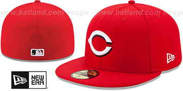 Reds AC-ONFIELD HOME Hat by New Era