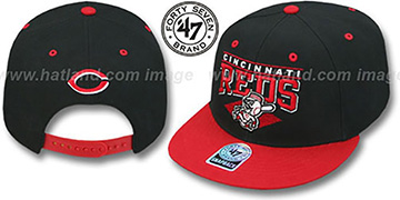 Reds '2T HOLDEN SNAPBACK' Adjustable Hat by Twins 47 Brand