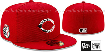 Reds DASHMARK BP Red Fitted Hat by New Era