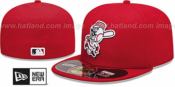 Reds 'MLB DIAMOND ERA' 59FIFTY Red BP Hat by New Era