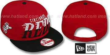 Reds 'SAILTIP SNAPBACK' Red-Black Hat by New Era