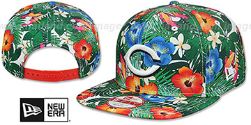 Reds SUNSHINE BLOOM SNAPBACK Hat by New Era