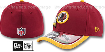 Redskins '2014 NFL STADIUM FLEX' Burgundy Hat by New Era
