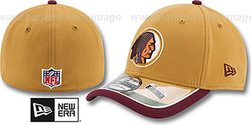 Redskins '2014 NFL STADIUM THROWBACK FLEX' Gold Hat by New Era