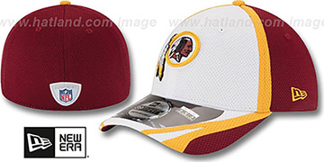 Redskins 2014 NFL TRAINING FLEX White Hat by New Era