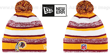 Redskins '2014 STADIUM' Knit Beanie Hat by New Era