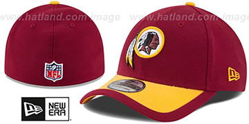 Redskins '2015 NFL STADIUM FLEX' Burgundy-Gold  Hat by New Era