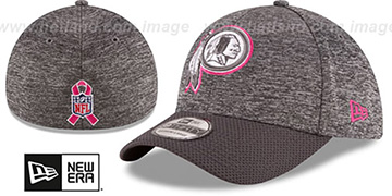 Redskins '2016 BCA FLEX' Grey-Grey Hat by New Era