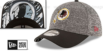Redskins 2016 MONOCHROME NFL DRAFT FLEX Hat by New Era