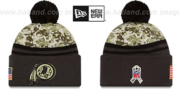Redskins '2016 SALUTE-TO-SERVICE' Knit Beanie Hat by New Era
