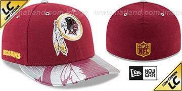 Redskins 2017 LOW-CROWN SPOTLIGHT Fitted Hat by New Era