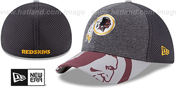 Redskins '2017 NFL ONSTAGE FLEX' Charcoal Hat by New Era