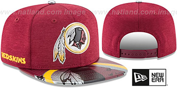Redskins 2017 NFL ONSTAGE SNAPBACK Hat by New Era