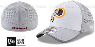 Redskins '2017 NFL TRAINING FLEX' White-Grey Hat by New Era