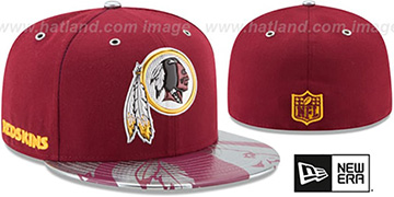 Redskins '2017 SPOTLIGHT' Fitted Hat by New Era
