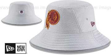 Redskins '2018 NFL TRAINING BUCKET' Grey Hat by New Era