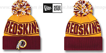 Redskins 'REP-UR-TEAM' Knit Beanie Hat by New Era