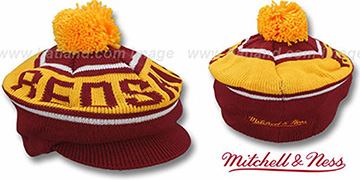 Redskins 'RERUN KNIT BEANIE' by Mitchell and Ness