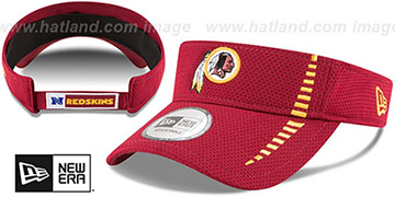 Redskins 'SPEED-VISOR' Burgundy by New Era