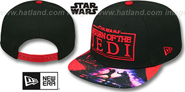 Return of the Jedi 'VIZA-PRINT SNAPBACK' Black Hat by New Era