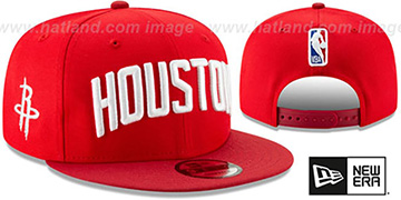 Rockets '18-19 CITY-SERIES SNAPBACK' Red Hat by New Era