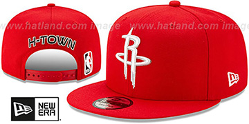 Rockets 19-20 CITY-SERIES ALTERNATE SNAPBACK Red Hat by New Era