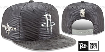 Rockets 2017 NBA ONCOURT SNAPBACK Charcoal Hat by New Era