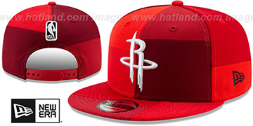 Rockets TEAM PATCHWORK SNAPBACK Hat by New Era