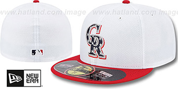 Rockies 2013 JULY 4TH STARS N STRIPES Hat by New Era