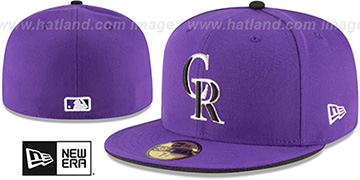 Rockies 'AC-ONFIELD ALTERNATE-2' Hat by New Era