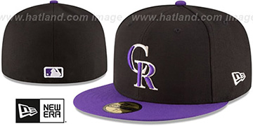 Rockies 'AC-ONFIELD ALTERNATE' Hat by New Era