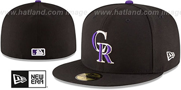Rockies 'AC-ONFIELD GAME' Hat by New Era