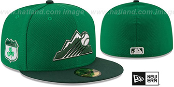 Rockies 2017 ST PATRICKS DAY Hat by New Era