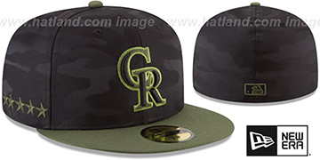Rockies 2018 MEMORIAL DAY 'STARS N STRIPES' Hat by New Era