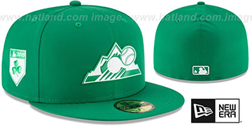 Rockies 2018 ST PATRICKS DAY Hat by New Era