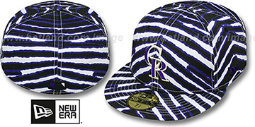 Rockies 'ALL-OVER ZUBAZ' Fitted Hat by New Era
