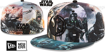 Rogue One ALL-OVER BATTLE Fitted Hat by New Era