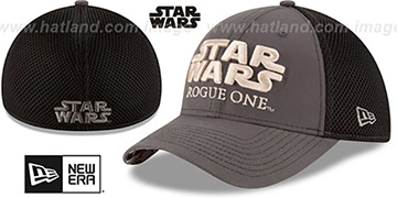 Rogue One 'STAR WARS TITLE' Grey Hat by New Era