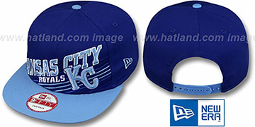 Royals  'STILL ANGLIN SNAPBACK' Royal-Sky Hat by New Era