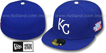 Royals 1985 WORLD SERIES CHAMPS GAME Hat by New Era