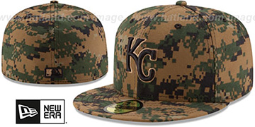 Royals 2016 MEMORIAL DAY 'STARS N STRIPES' Hat by New Era