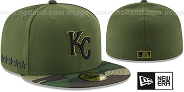Royals 2017 MEMORIAL DAY 'STARS N STRIPES' Hat by New Era
