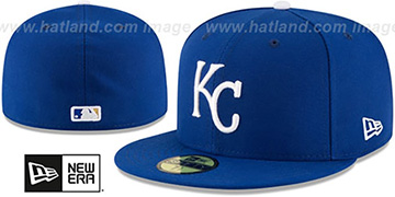 Royals AC-ONFIELD GAME Hat by New Era