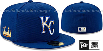 Royals DASHMARK BP Royal Fitted Hat by New Era