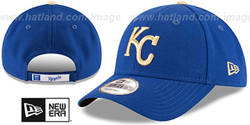 Royals THE-LEAGUE ALTERNATE STRAPBACK Royal Hat by New Era