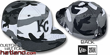 Royals 'URBAN CAMO' Fitted Hat by New Era